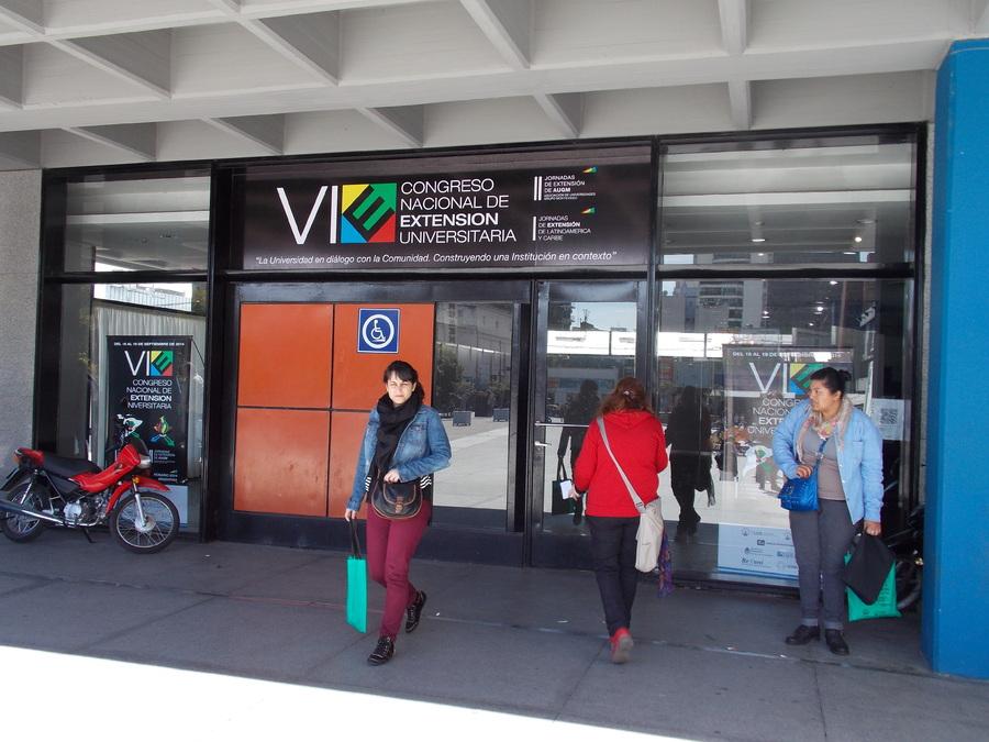 El LINTI estuvo presente en VI Congreso Nacional de Extensión Universitaria 6