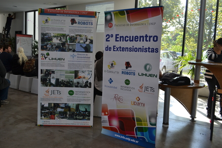Se realizó el 2do Encuentro de Extensionistas en la Facultad de Informática 2